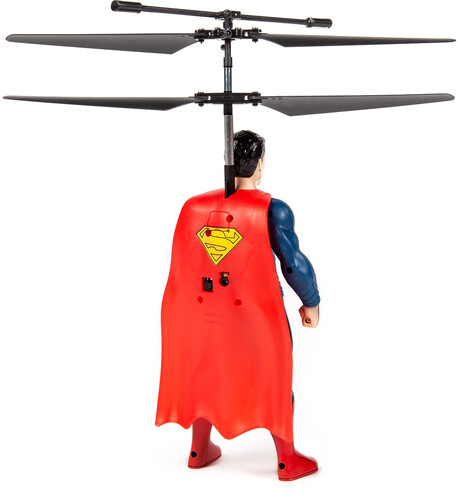 Superman 2CH IR Remote Control RC Flying Figure Helicopter