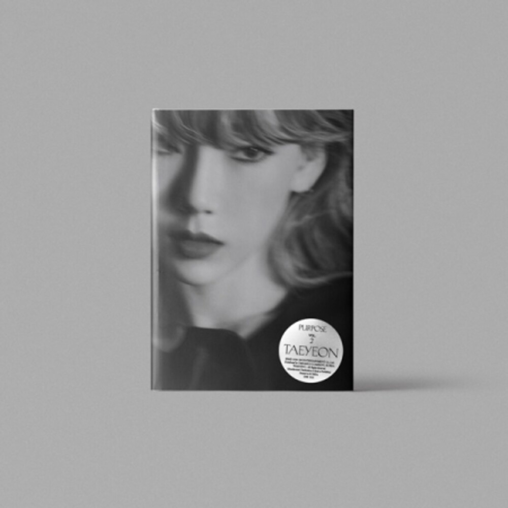 Taeyeon - Purpose [With Booklet] (Asia)