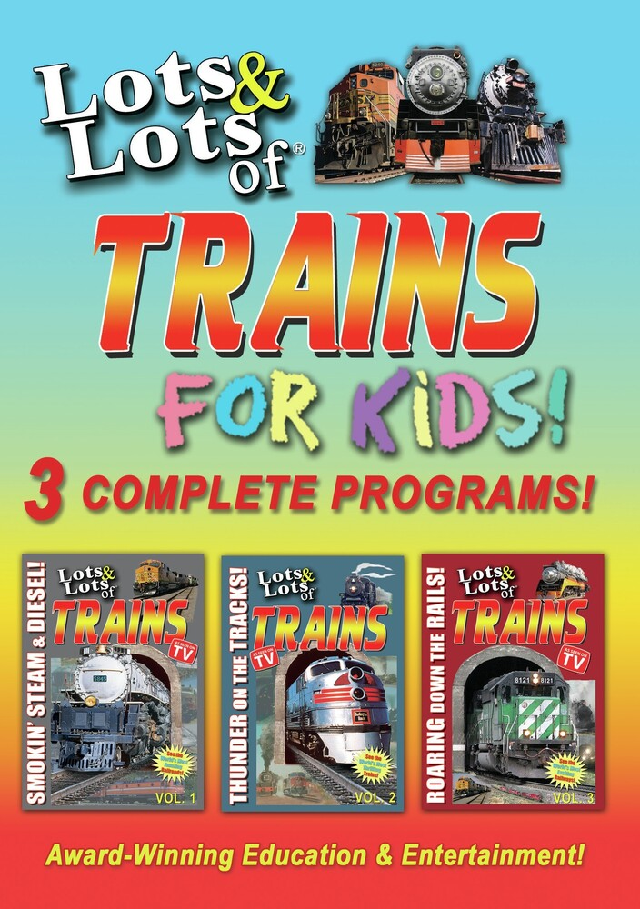 - Lots & Lots Of Trains For Kids / (Mod)