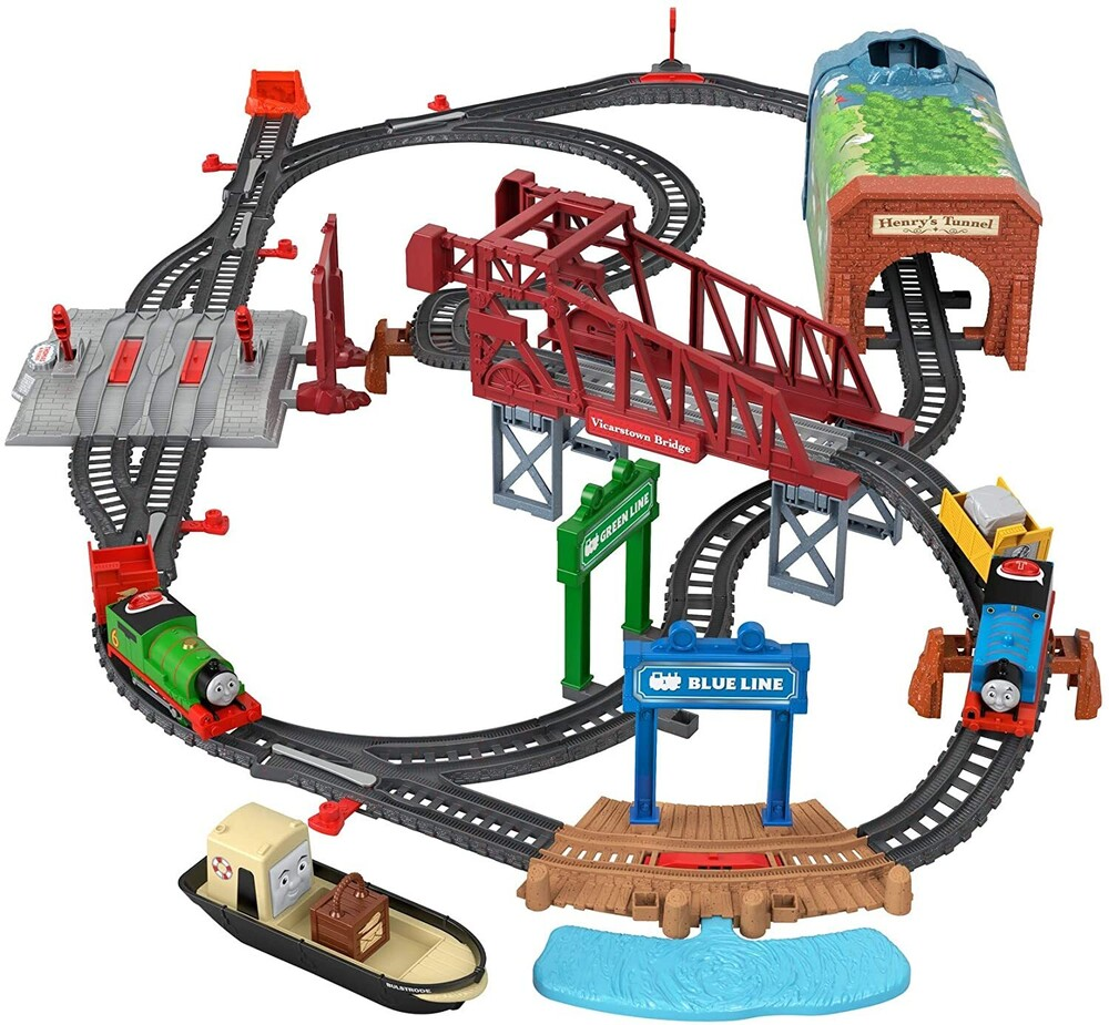 Thomas and Friends - Fisher Price - Thomas and Friends Talking Thomas & Percy Train Set