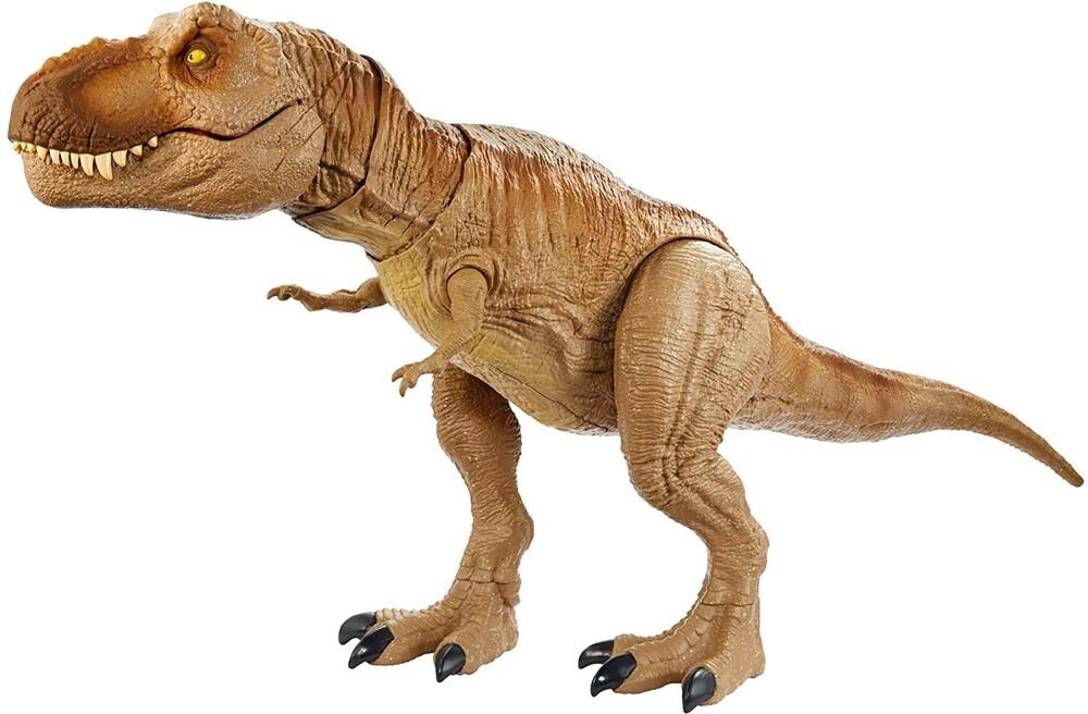 Jurassic Park - Mattel - Jurassic World Epic Roarin' T-Rex