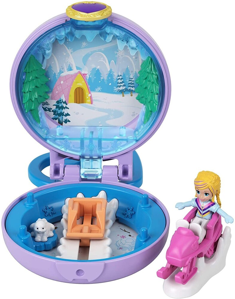 Polly Pocket - Mattel - Polly Pocket Tiny Compact, Winter