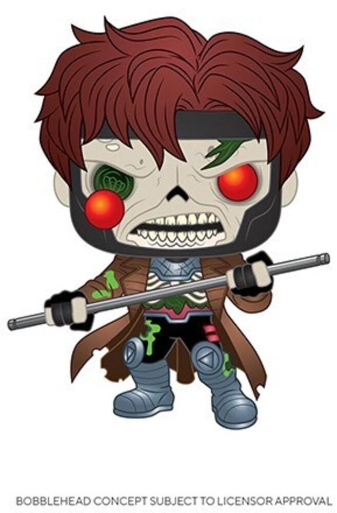 Funko Pop! Marvel: - FUNKO POP! MARVEL: Marvel Zombies - Gambit