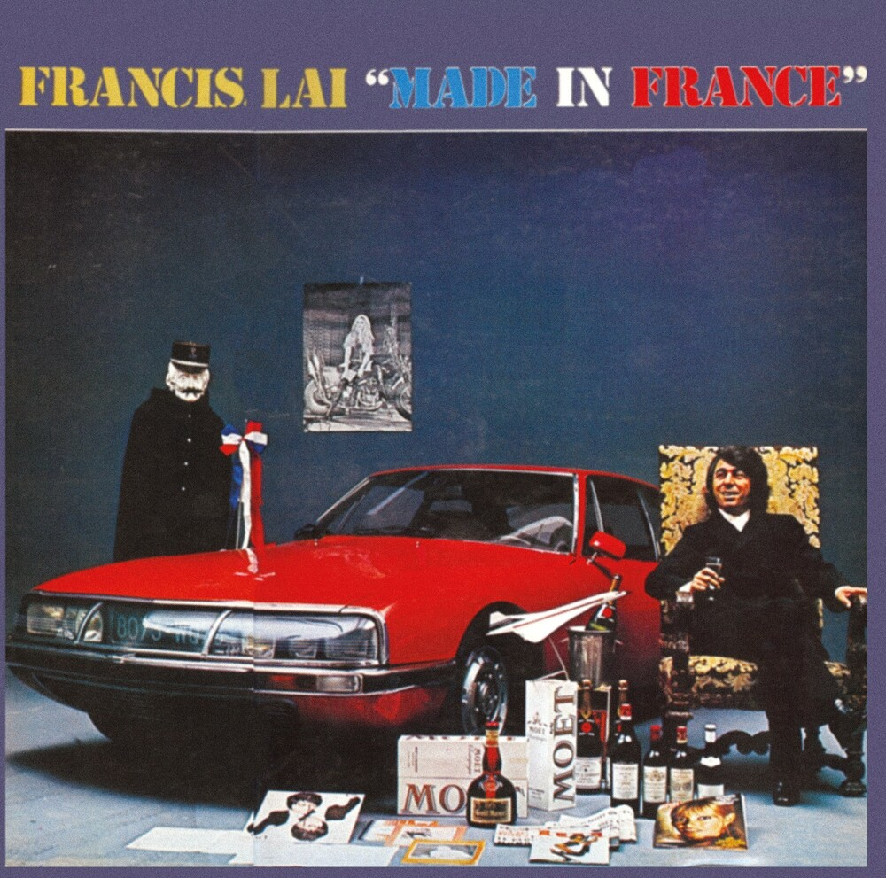 Francis Lai - Made In France (Blue) (Iex)