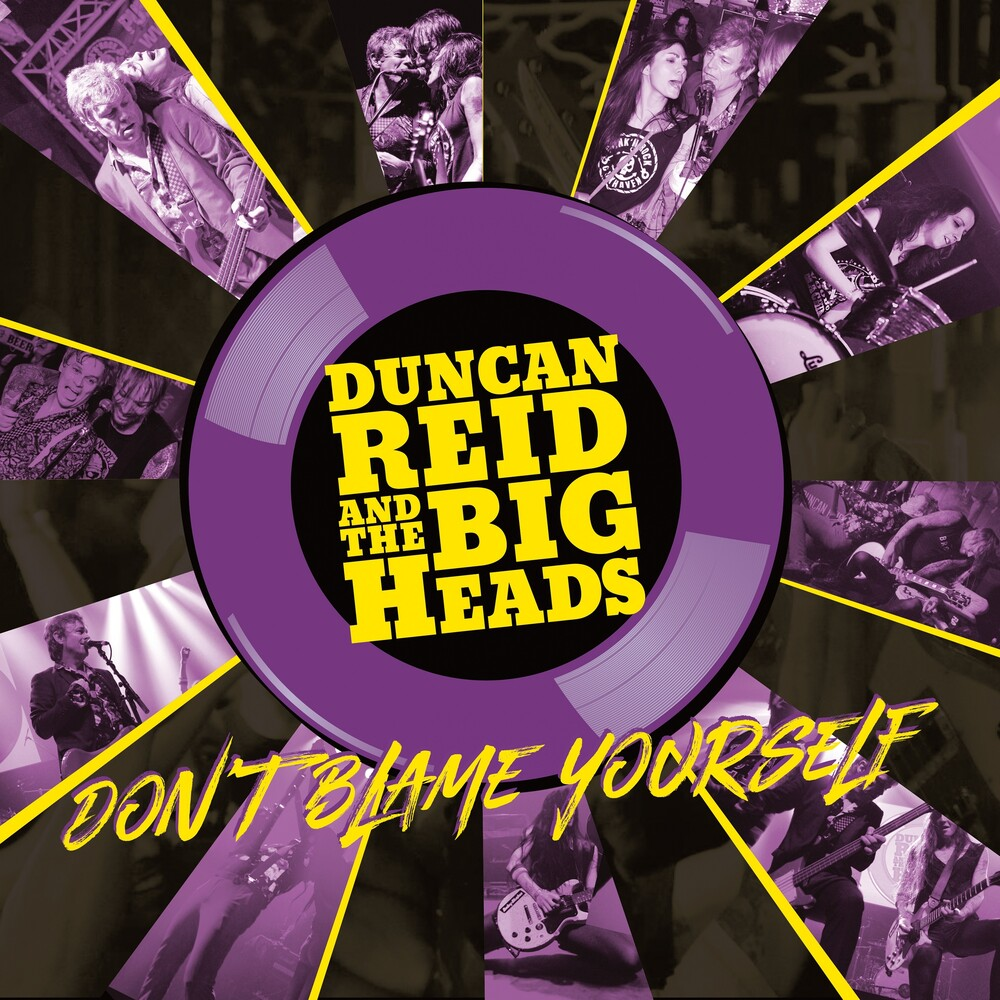 Duncan Reid & The Big Heads - Don't Blame Yourself [Limited Edition] (Purp) (Ylw) (Uk)
