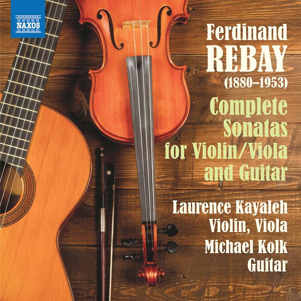 Laurence Kayaleh - Sonatas Violin / Viola & Guitar