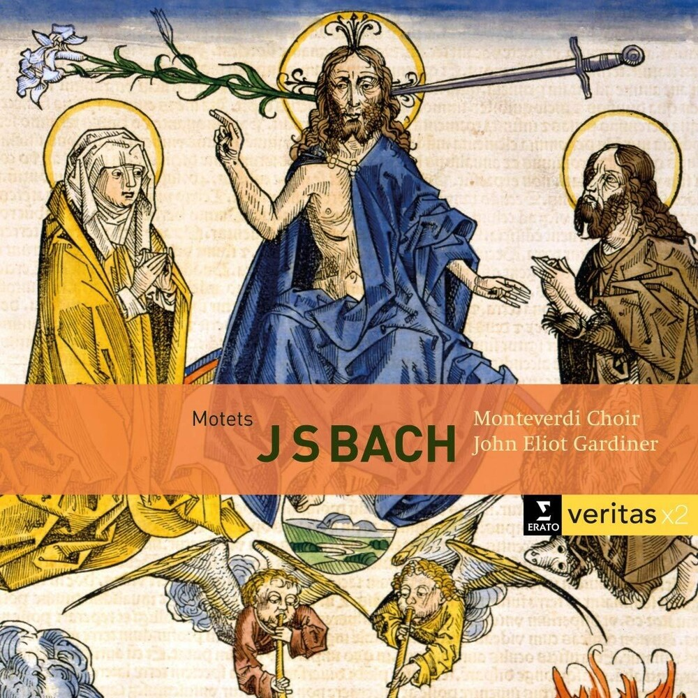 John Gardiner Eliot - Bach: Motets Bwv 225-231 Cantatas Bwv 50 & 118