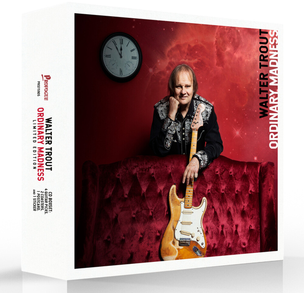 Walter Trout - Ordinary Madness [Deluxe Edition]