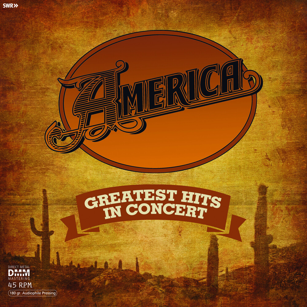 America - Greatest Hits In Concert [2LP]