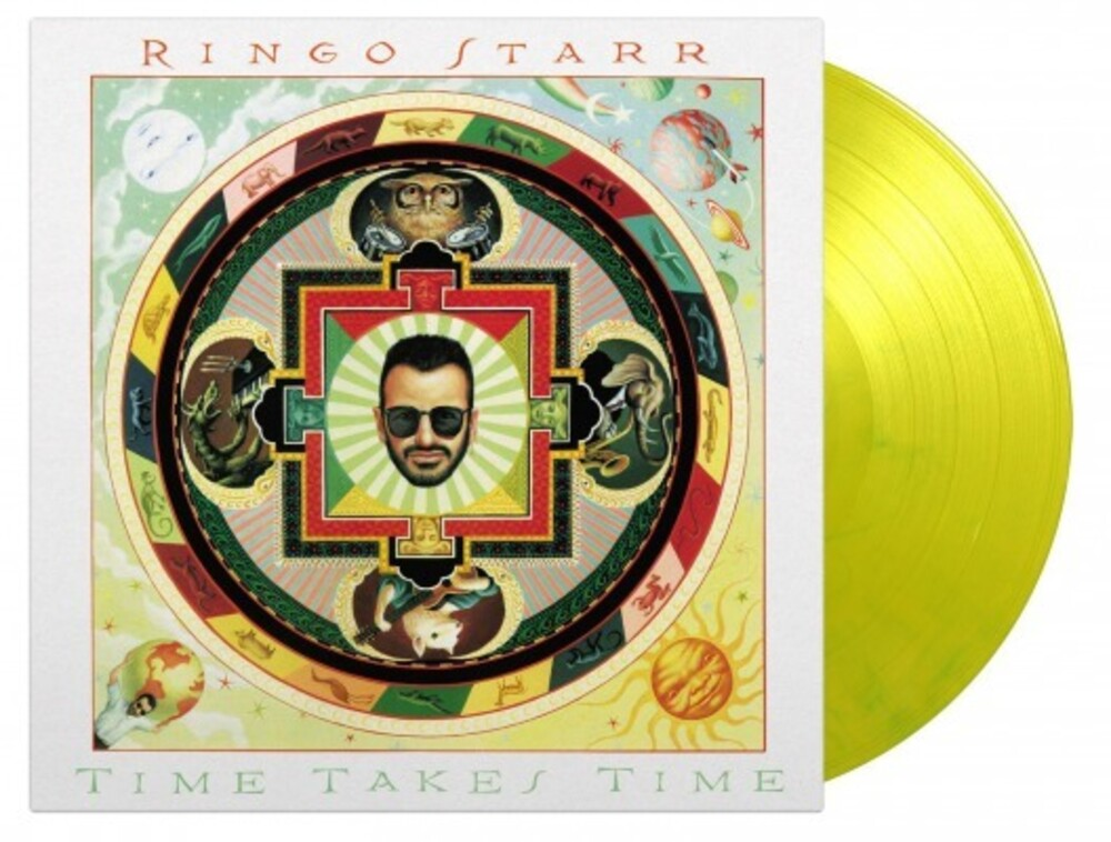 Ringo Starr - Time Takes Time [Limited 180-Gram, Yellow & Green Marble Colored Vinyl]