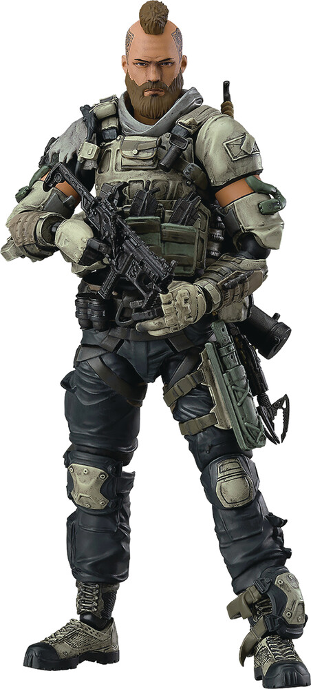 - Good Smile Company - Call Of Duty Black Ops 4 Ruin Figma Action Figure