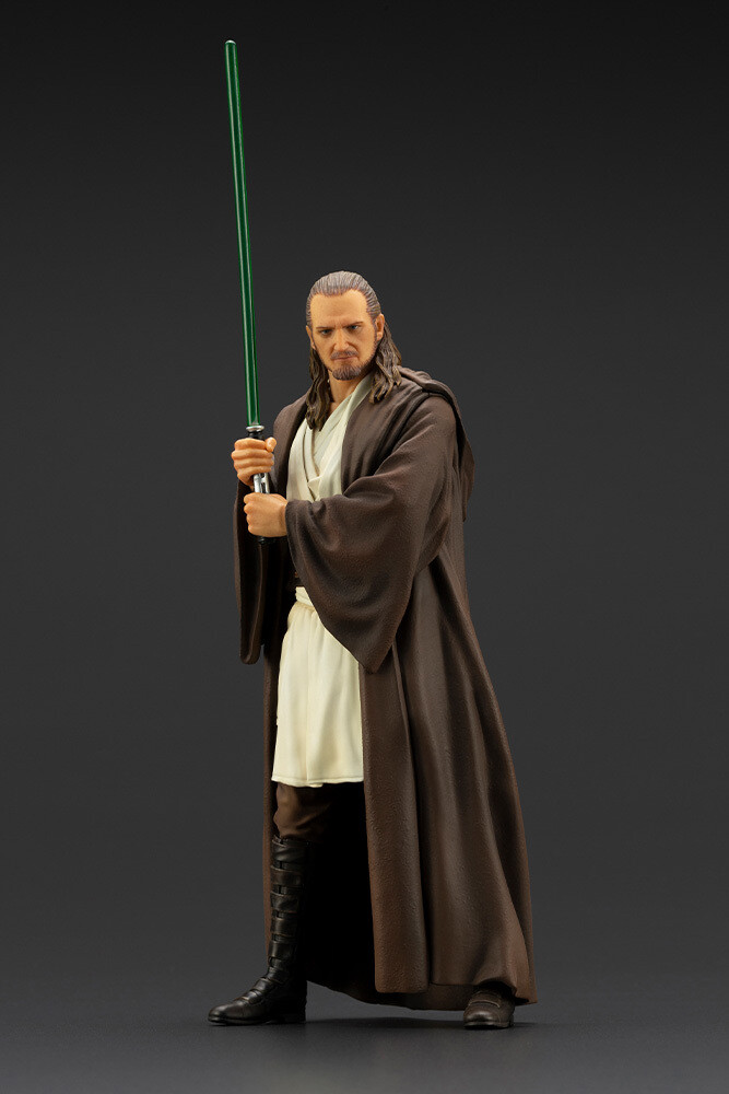 Star Wars: The Phantom Menace - Qui-Gon Jinn Artfx - Kotobukiya - Star Wars: The Phantom Menace - Qui-gon Jinn Artfx+ Statue