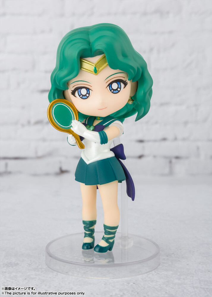 Tamashi Nations - Tamashi Nations - Sailor Moon Eternal - Super Sailor NEPTUNE-Eternal Edition, Bandai Spirits Figuarts Mini