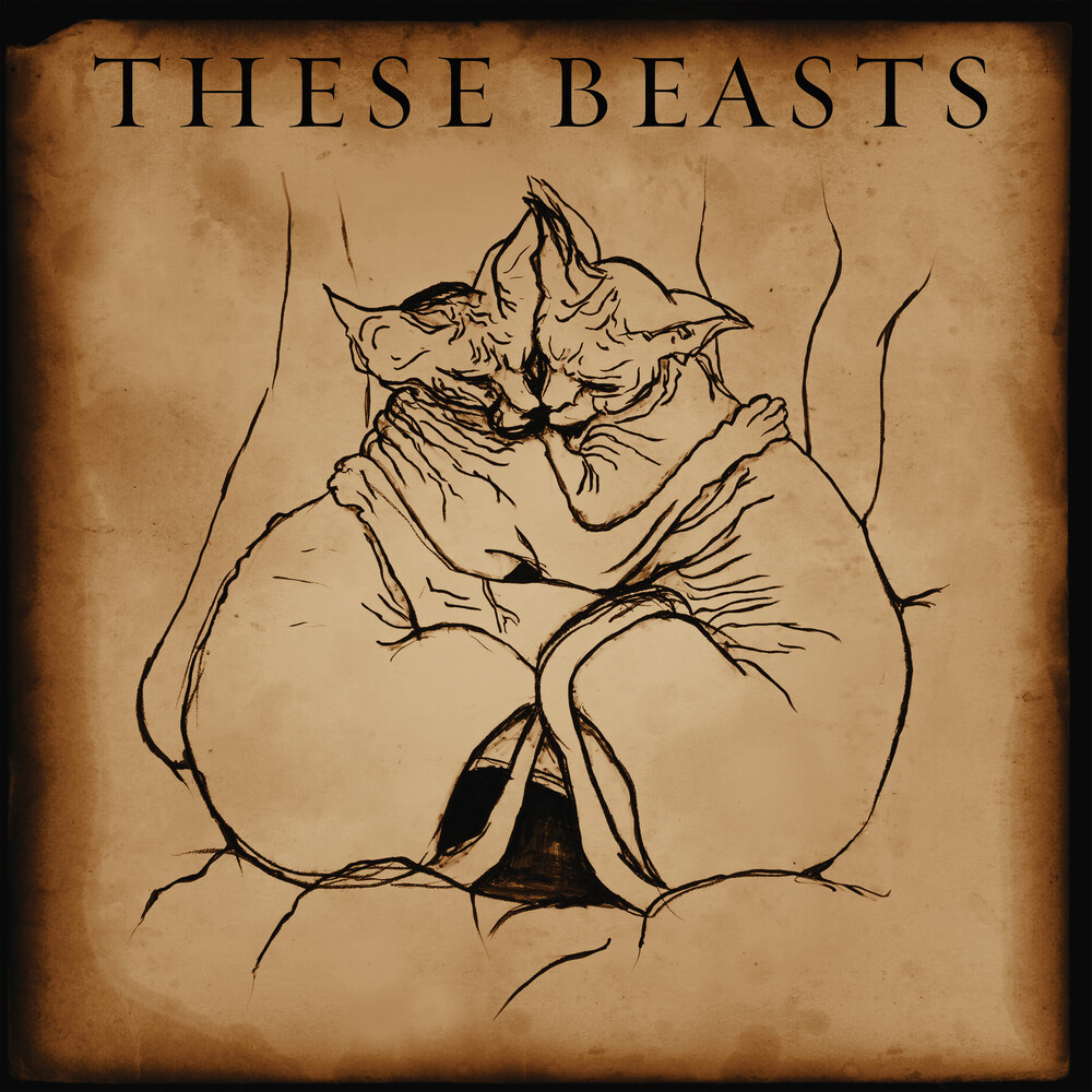 se Beasts - These Beasts (Bronze Smoke Vinyl) [Colored Vinyl] (Ep)