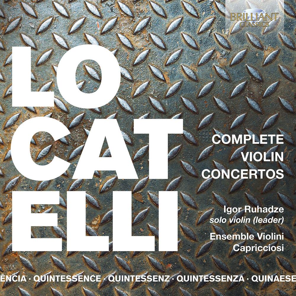Locatelli / Ruhadze - Complete Violin Concertos