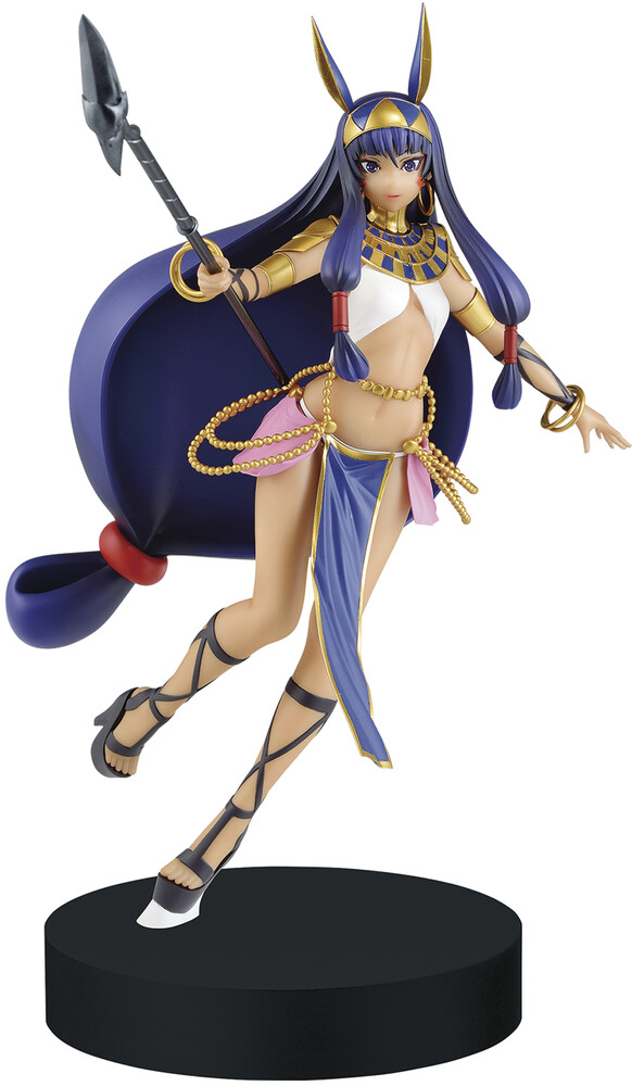- BanPresto - Fate/Grand Order Divine Realm Round Table Servant NitocrisFigure