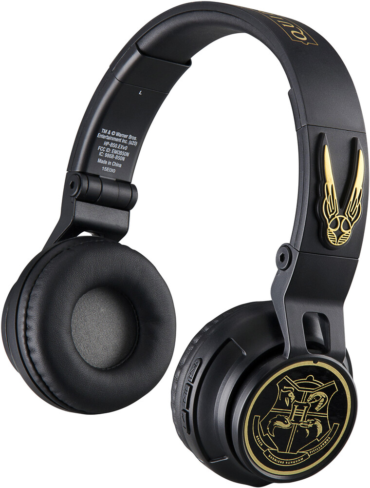 Harry Potter Hp-B50.Exv0 Bt Hdphn Foldable Black - Harry Potter HP-B50.EXV0 Bluetooth Wireless Headphones Foldable On EarWith Microphone (Black)
