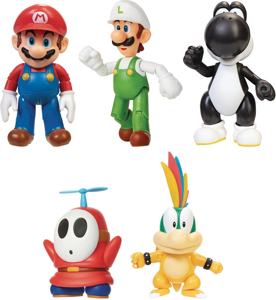 Jakks Pacific - Jakks Pacific - World Of Nintendo 4 Action Figure Assortment Wave 22(Net)