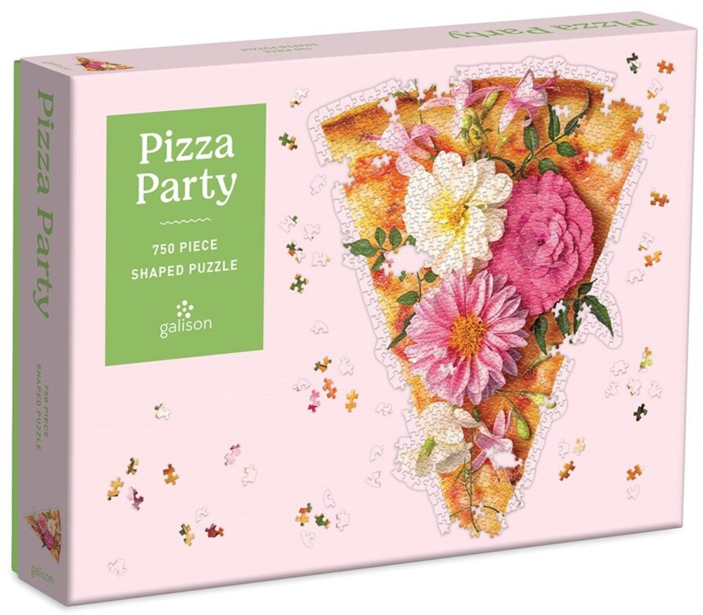- Pizza Party 750 Piece Shaped Puzzle