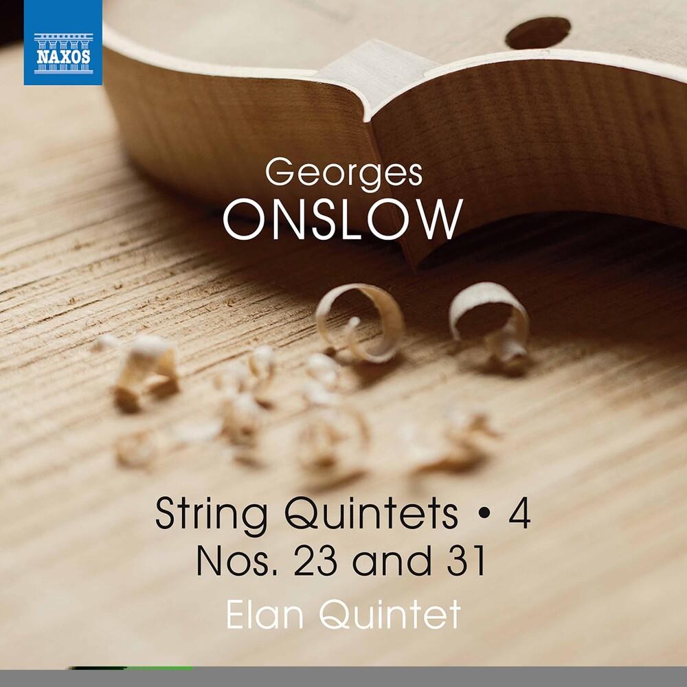 Onslow / Elan Quintet - String Quintets 4