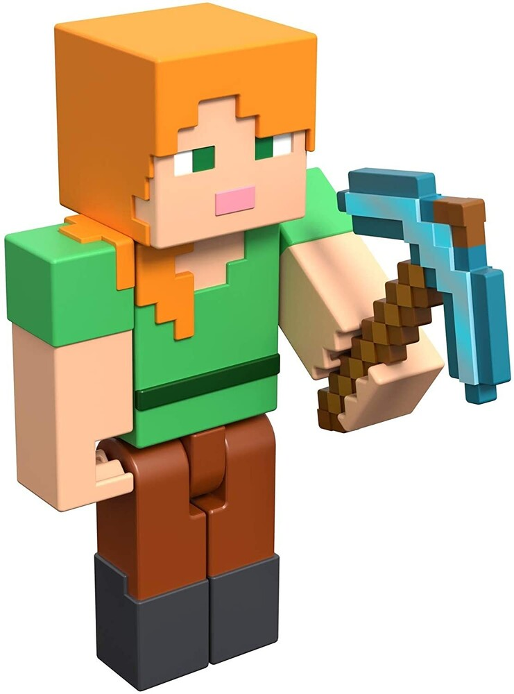 - Mattel Collectible - Minecraft 3.25 Alex