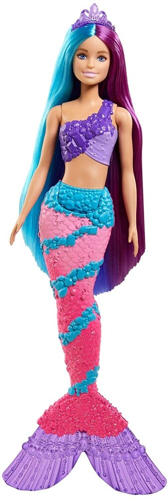 - Mattel - Barbie Dreamtopia Mermaid Doll, Long Hair