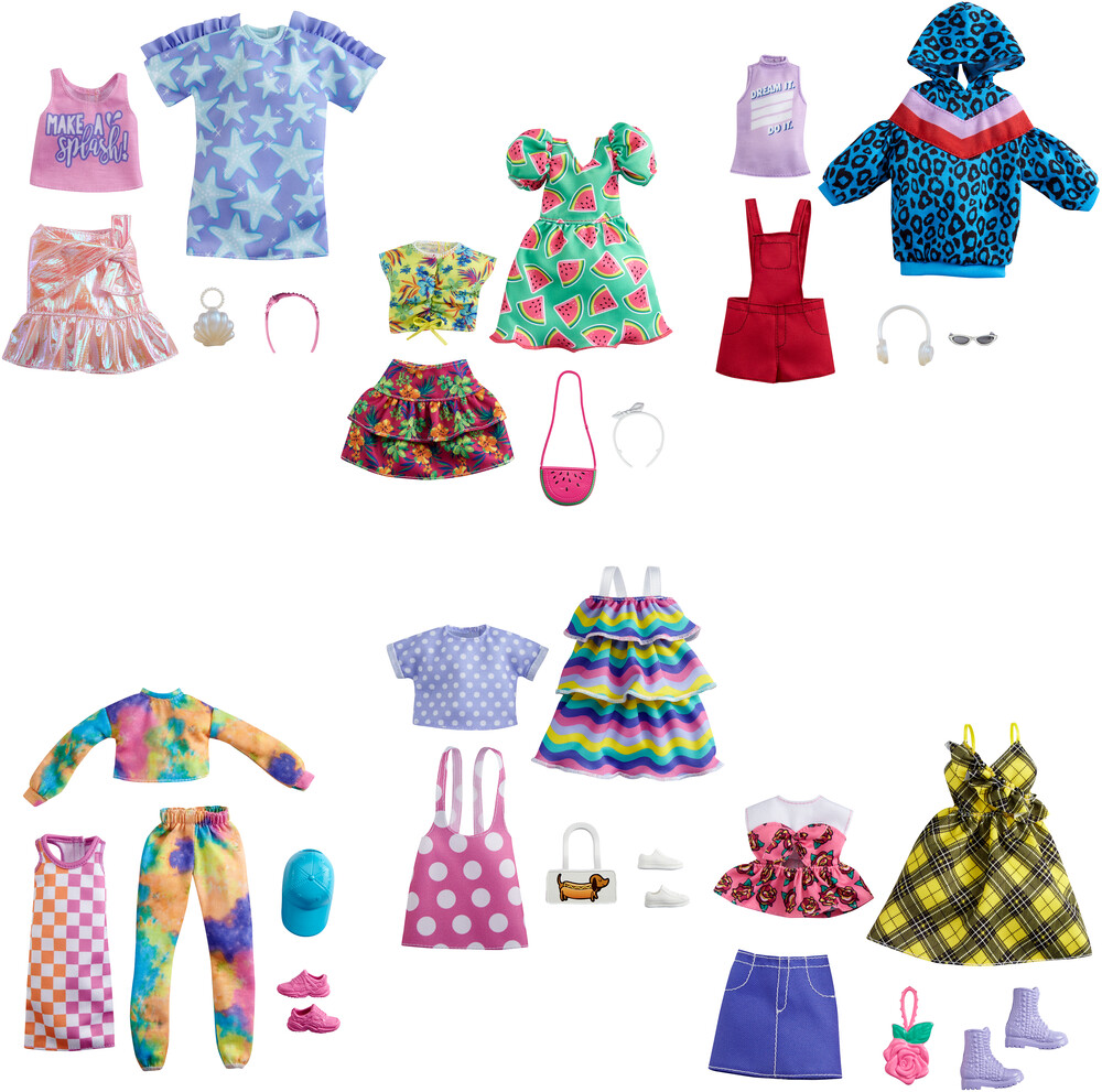 - Mattel - Barbie Fashion 2-Pack Assortment