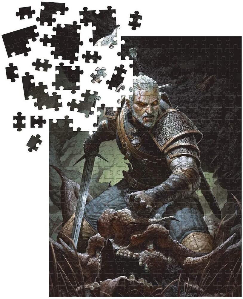 Witcher 3 - Wild Hunt: Geralt Trophy Puzzle - Witcher 3 - Wild Hunt: Geralt Trophy Puzzle (Puzz)