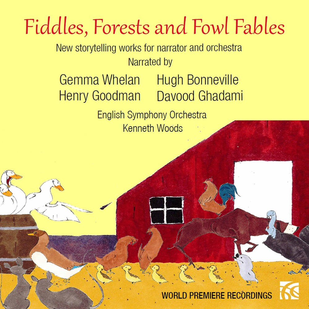 Kraines / Whelan / Woods - Fiddles Forests & Fowl Fables (2pk)