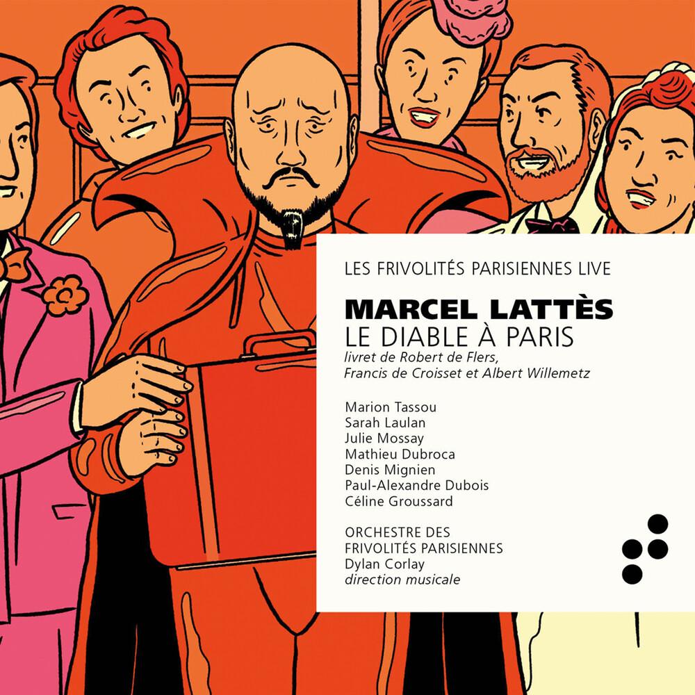 Lattes / Frivolites Parisiennes / Corlay - Le Diable A Paris (2pk)