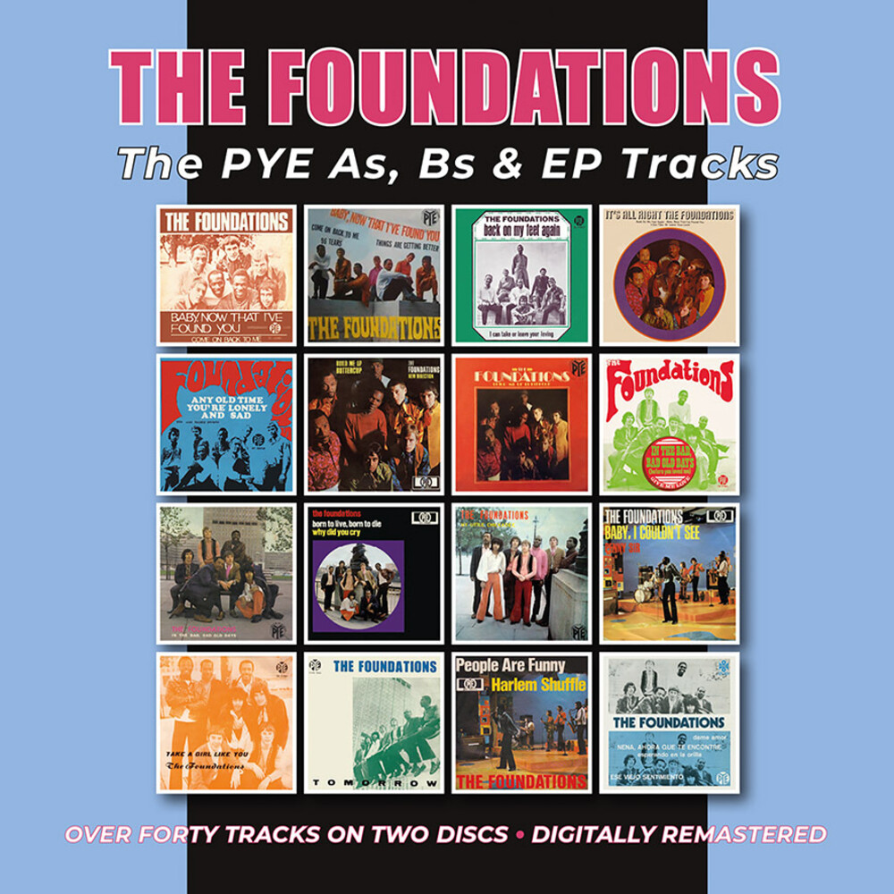 Foundations - Pye As Bs & Ep Tracks (Uk)