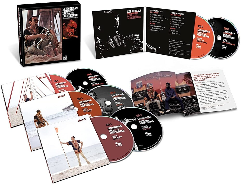Lee Morgan - The Complete Live At The Lighthouse [8 CD Box Set]