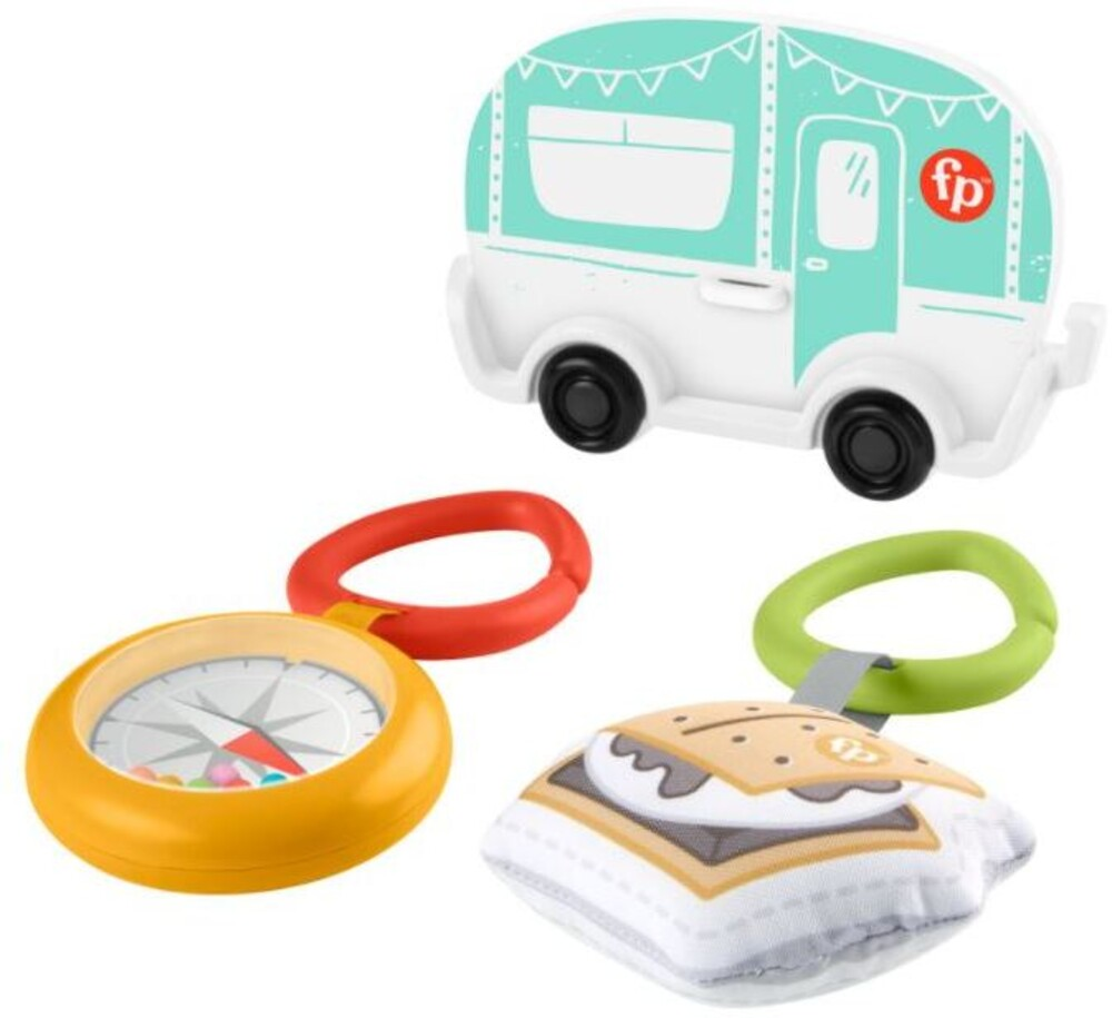 - Happy Camper Toy 3 Pack