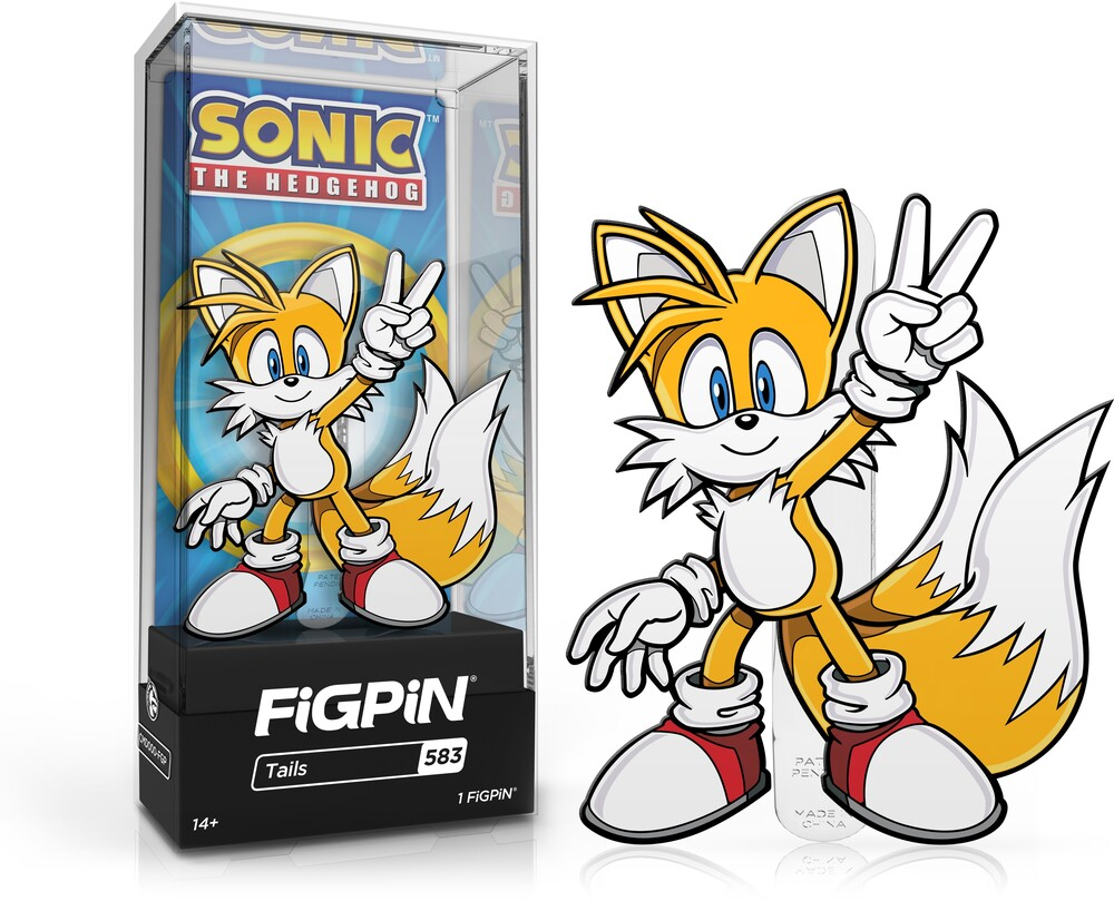 Figpin Sonic the Hedgehog Tails #583 - Figpin Sonic The Hedgehog Tails #583 (Clcb) (Pin)