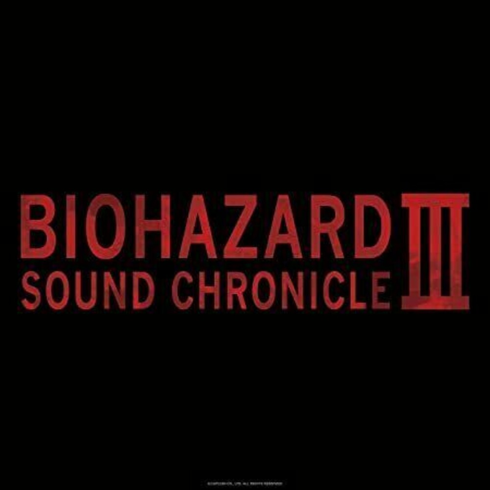 Game Music (Box) (Jpn) - Biohazard Sound Chronicle Iii / O.S.T. (Box) (Jpn)