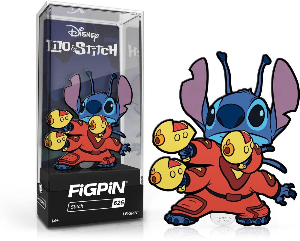 Figpin Disney Lilo & Stitch Stitch #626 - Figpin Disney Lilo & Stitch Stitch #626 (Clcb)