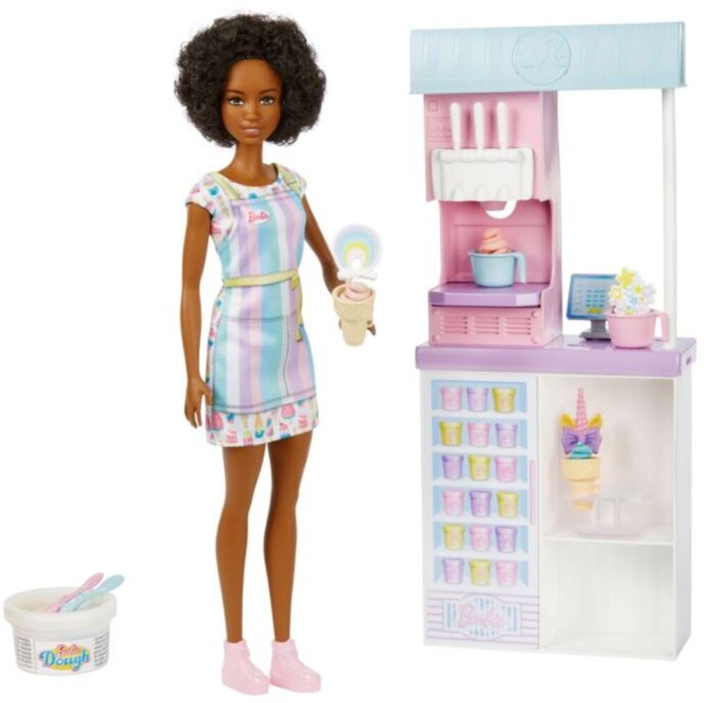 Barbie - I Can Be Media Ice Cream Parlor Playset Aa (Papd)