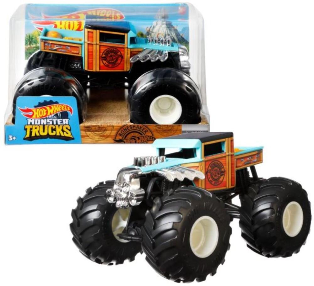 Hot Wheels Monster Truck - Hw Monster Truck 1:24 Bone Shaker (Tcar)