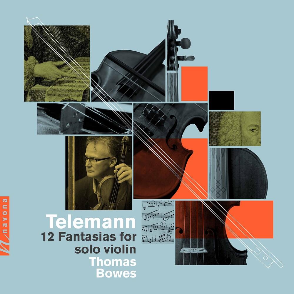 Telemann / Bowes - 12 Fantasias For Solo Violin