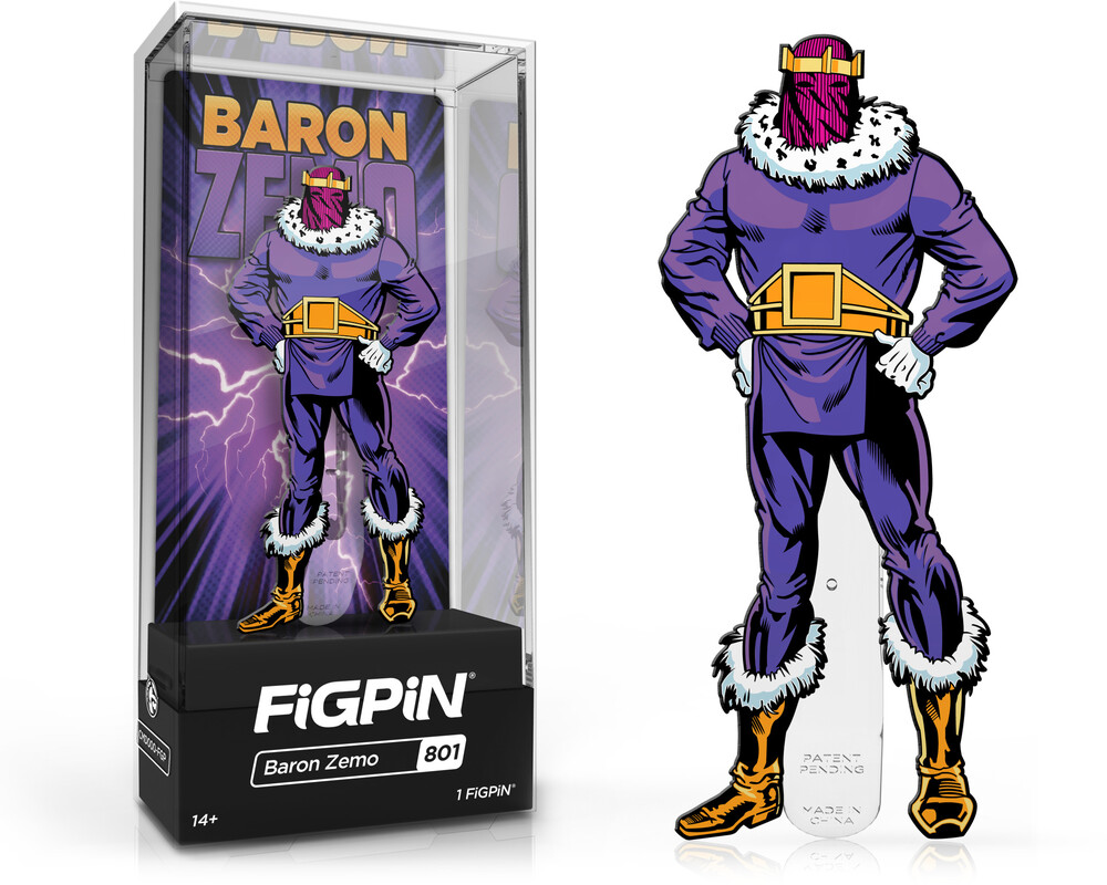 Figpin Marvel Villains Baron Zemo #801 - Figpin Marvel Villains Baron Zemo #801 (Clcb)