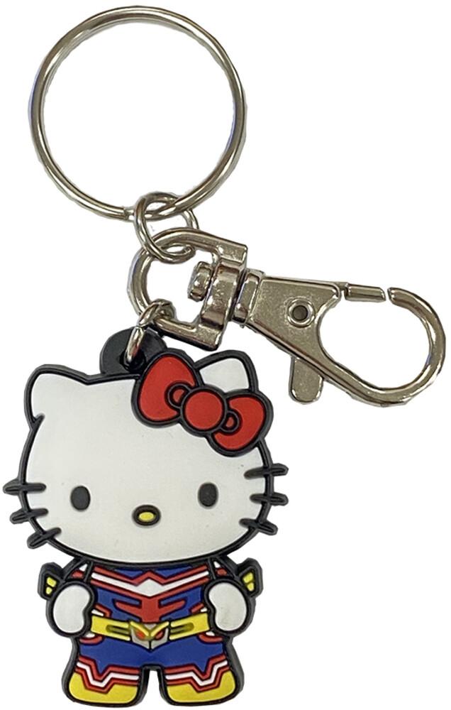 Sanrio X My Hero Academia Hello Kitty Pvc Keychain - Sanrio X My Hero Academia Hello Kitty Pvc Keychain