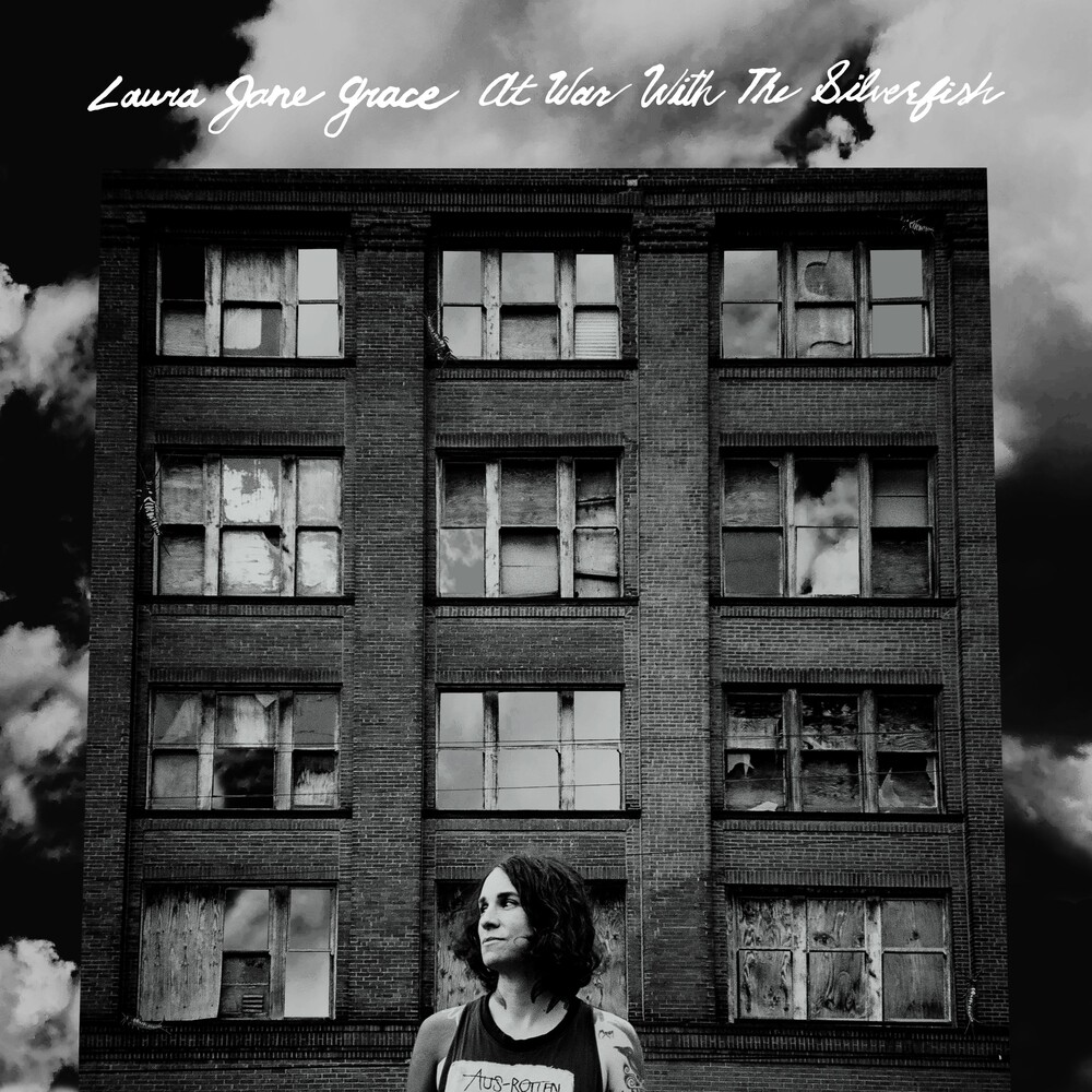 Laura Grace  Jane - At War With The Silverfish (Crystal Clear Vinyl)