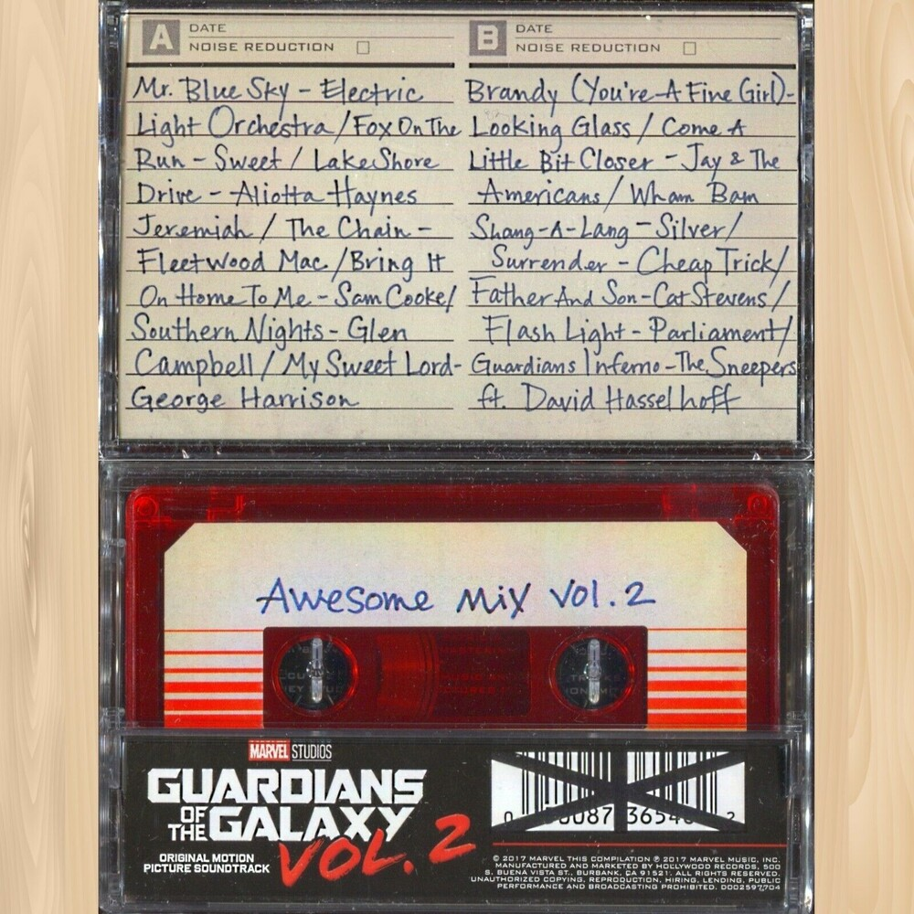 Various Artists - Guardians Of The Galaxy, Vol. 2: Awesome Mix, Vol. 2 (Various Artists)