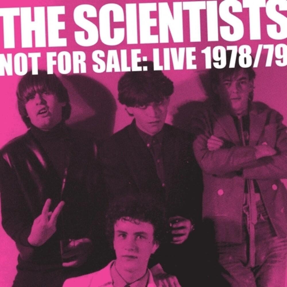 Scientists - Not For Sale: Live 1978-1979 (Aus)