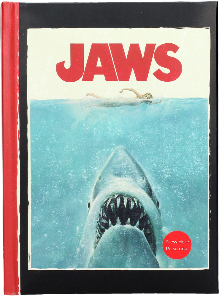 - Jaws Notebook W/Light Jaws (Jour)