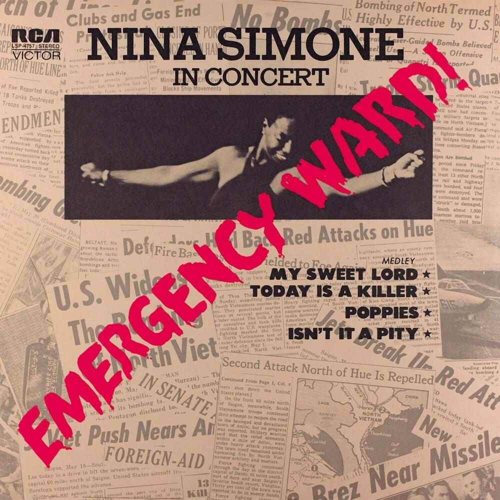 Nina Simone - Emergency Ward [Limited Red Colored Vinyl]