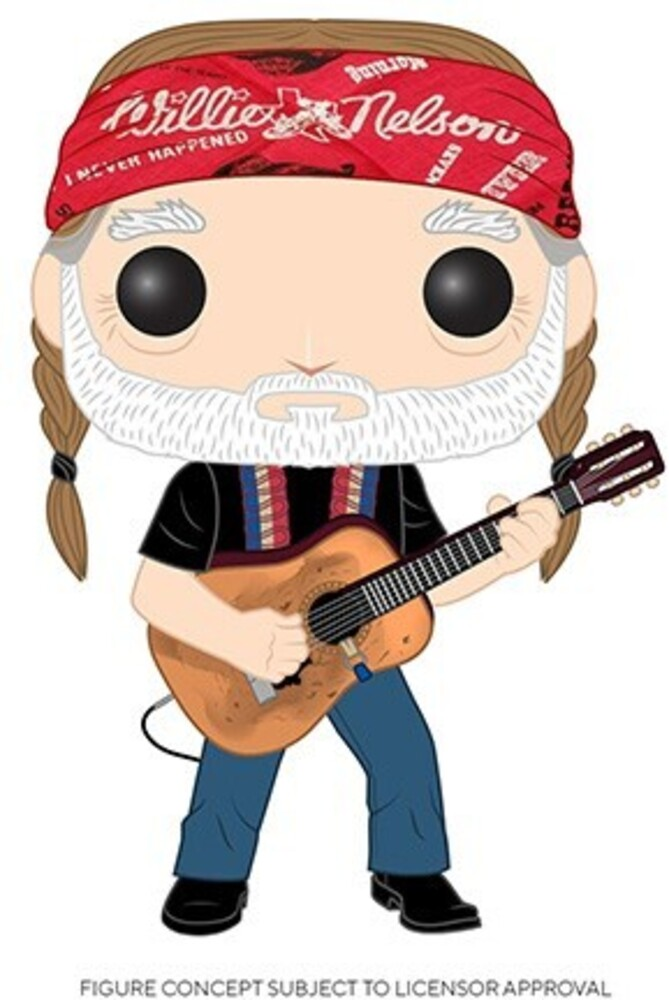 - FUNKO POP! ROCKS: Willie Nelson