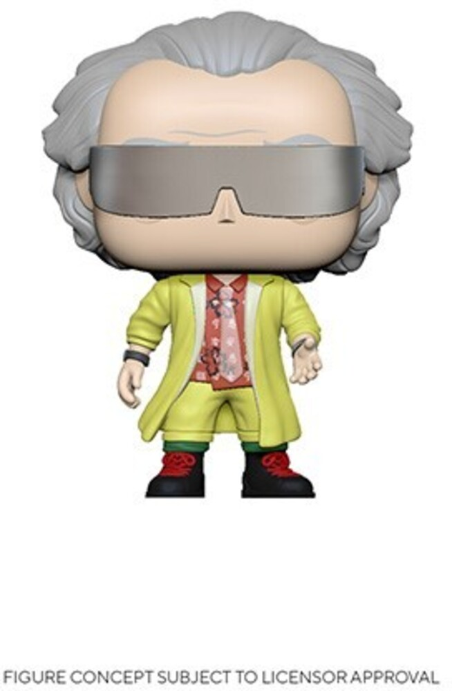 - FUNKO POP! MOVIES: Back to the Future- Doc 2015