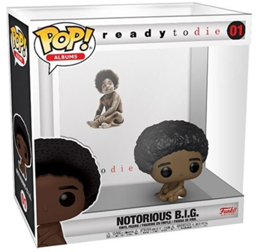 - FUNKO POP! ALBUMS: Biggie Smalls w/ Case