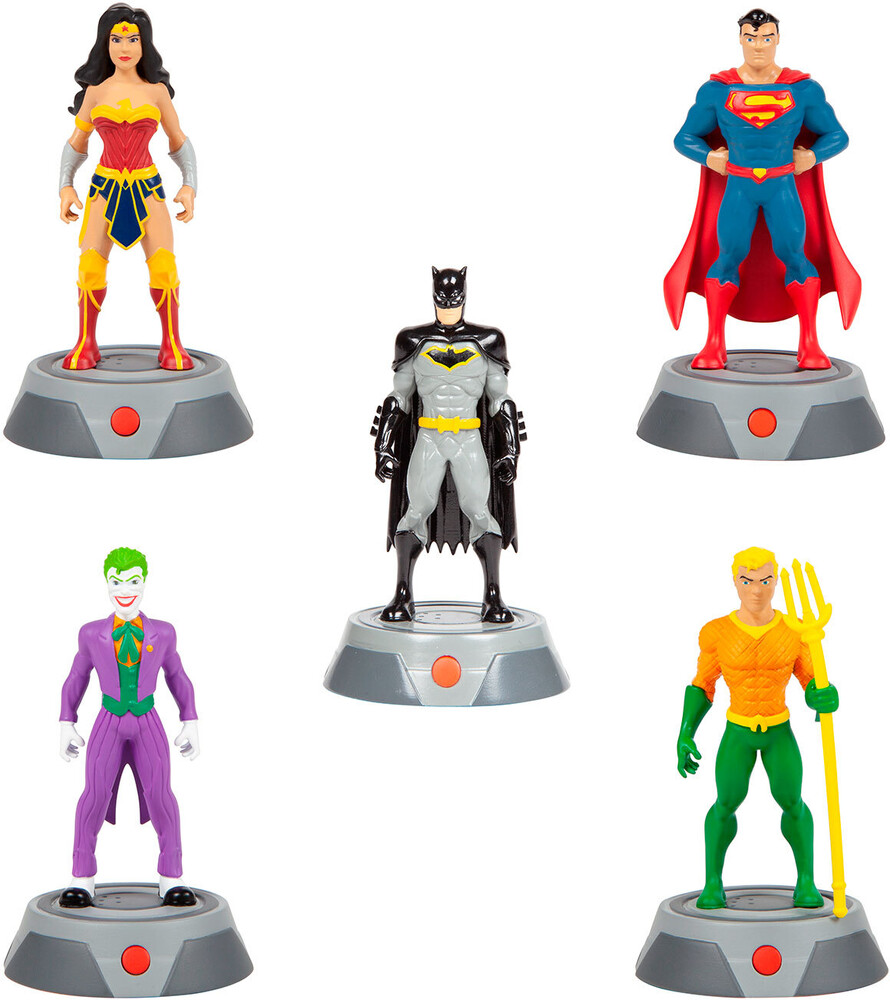 Rc Figures - Super FX 2.5 Inch: DC Comics Statue with Real Audio, 5-Pack (DC)